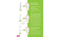 "Fruit Acid Exfoliant ""All Inclusive"" Priming, exfoliant and care set"