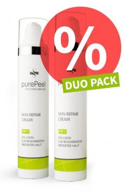 DUO PACK - Regenerierende Pflegecreme Skin Repair Cream, 2 x 50ml
