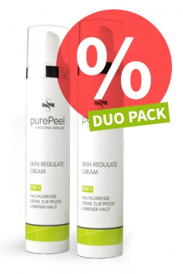 DUO PACK - Anti-Unreinheiten 24h-Creme Skin Regulate Cream, 2 x 50ml