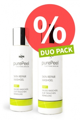 DUO PACK - Mildes Waschgel  Skin Repair Washgel, 2 x 100ml