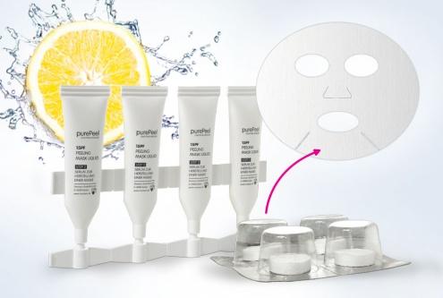 Fruchtsäurepeeling Vlies-Maske 15pf, 30ml
