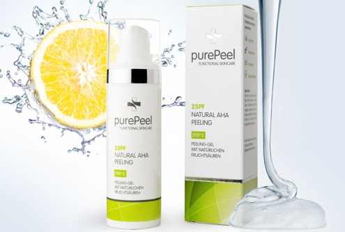 Fruit Acid Exfoliant Gel
