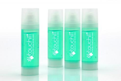 touchiii Handhygiene Gel, 4er-Set Für sympathisch gepflegte und erfrischte Hände